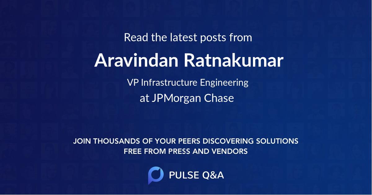 Aravindan Ratnakumar