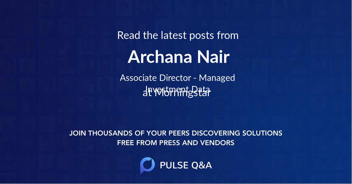 Archana Nair