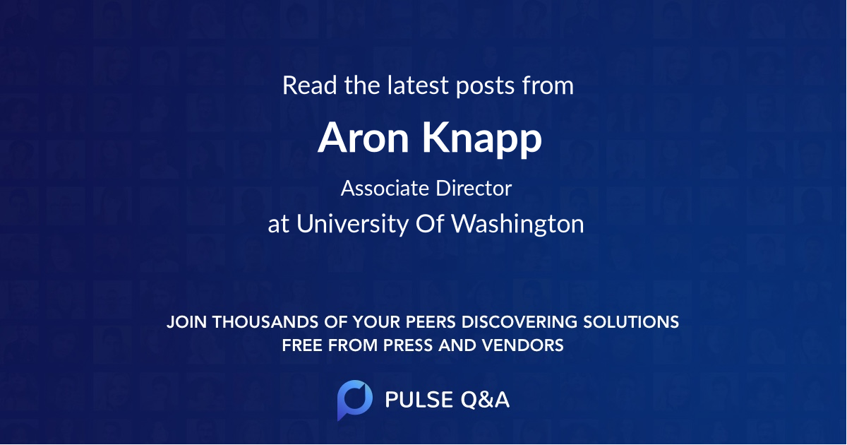 Aron Knapp