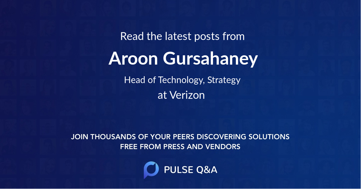 Aroon Gursahaney