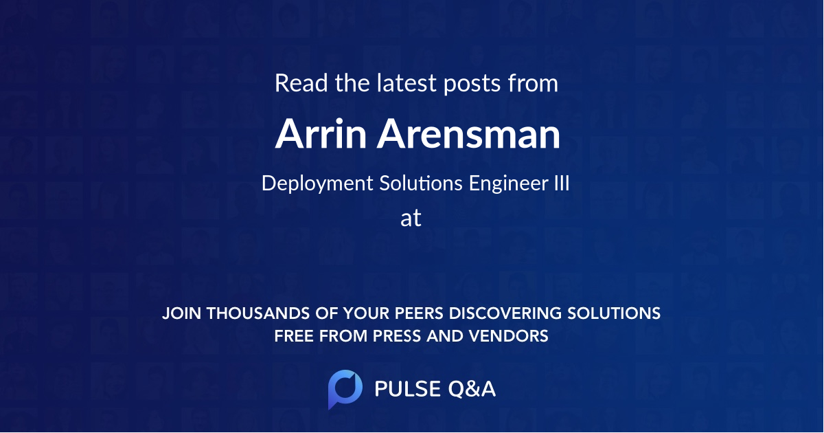 Arrin Arensman