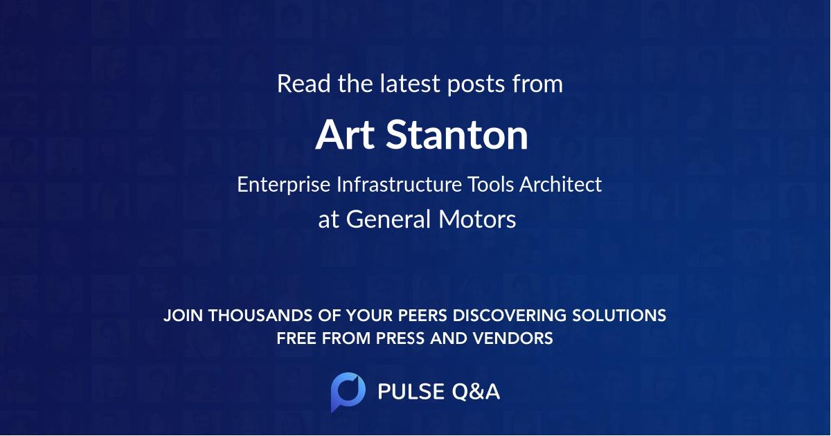Art Stanton