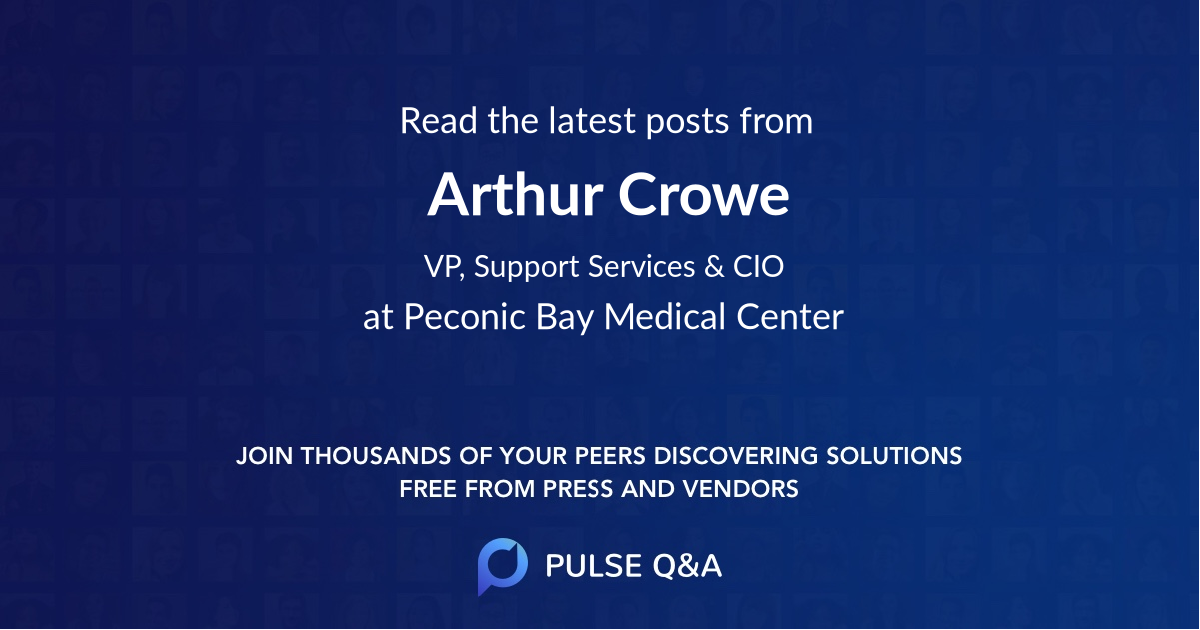 Arthur Crowe
