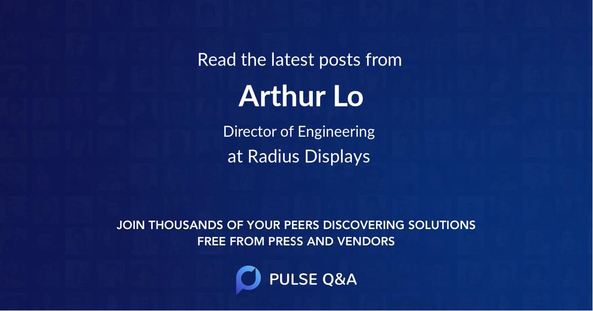 Arthur Lo