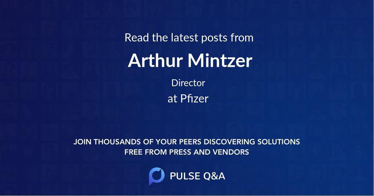 Arthur Mintzer