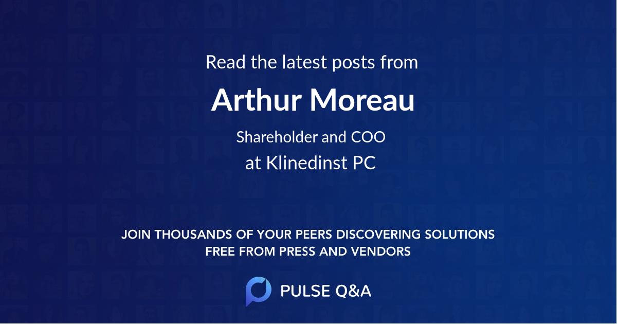 Arthur Moreau