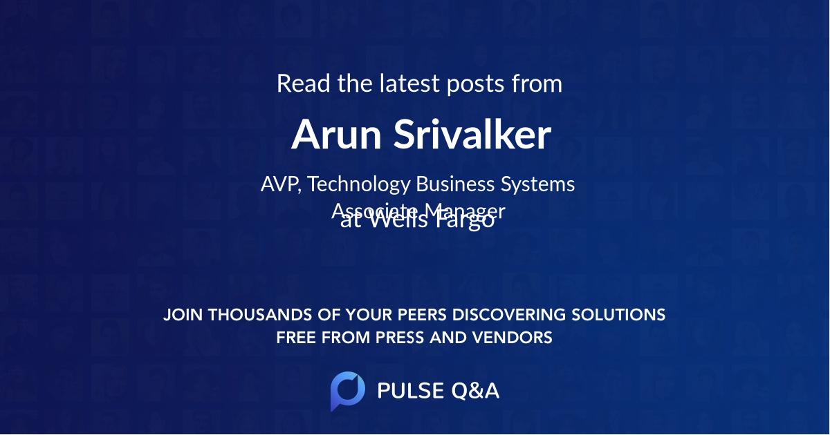 Arun Srivalker