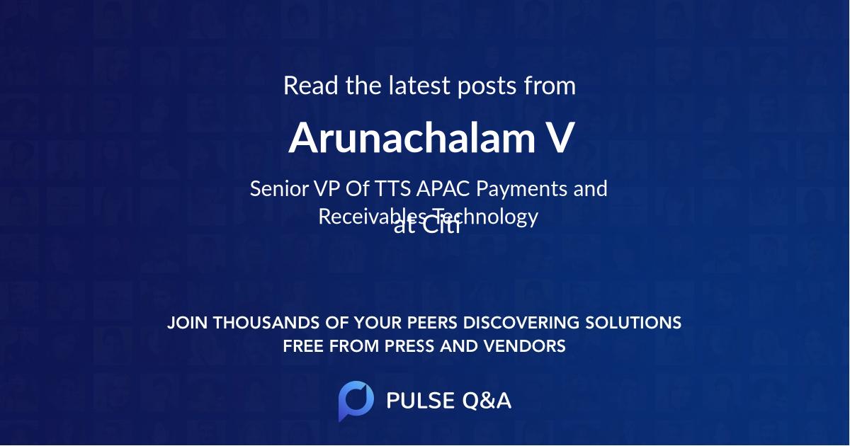 Arunachalam V