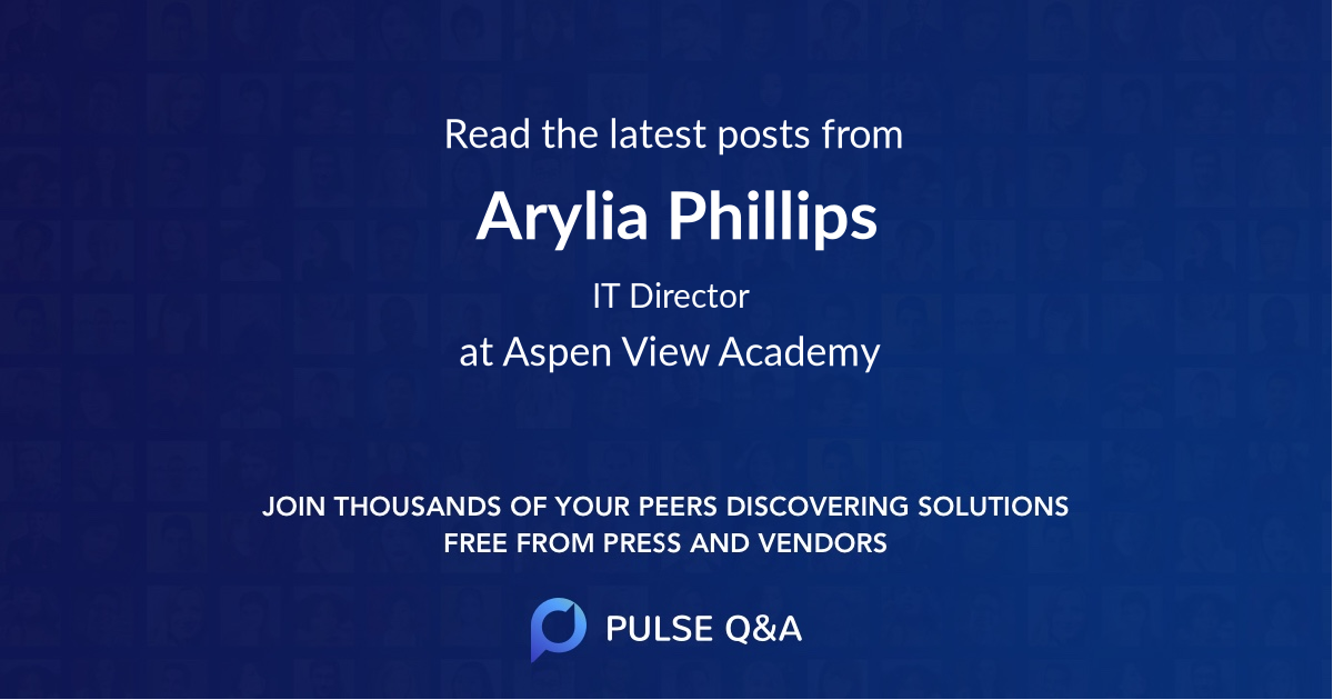 Arylia Phillips