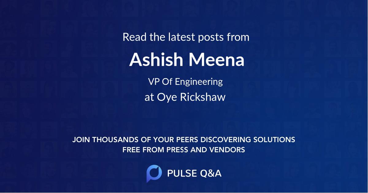 Ashish Meena