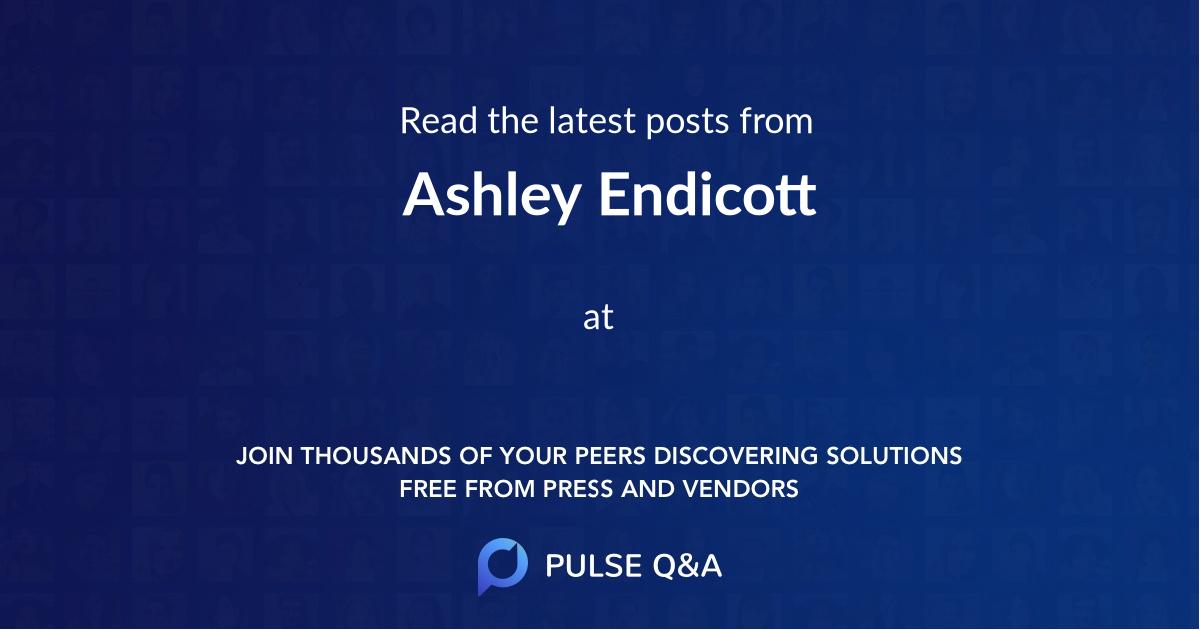 Ashley Endicott