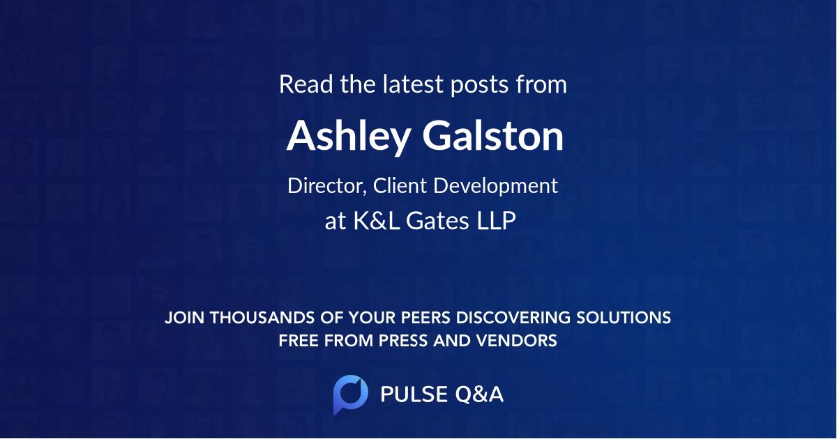 Ashley Galston