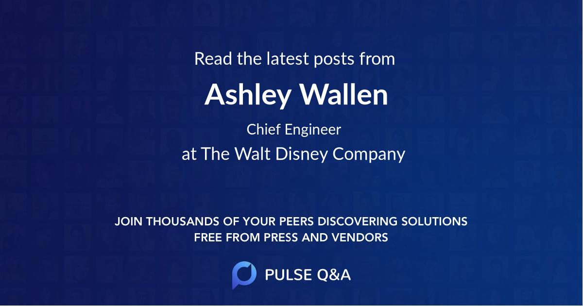 Ashley Wallen