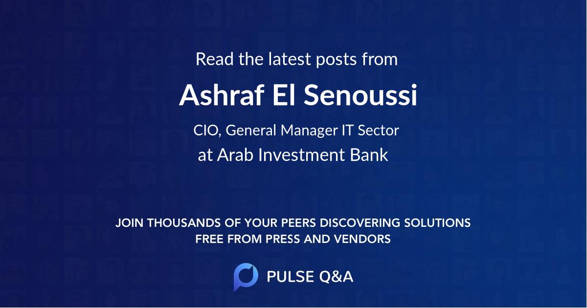 Ashraf El Senoussi