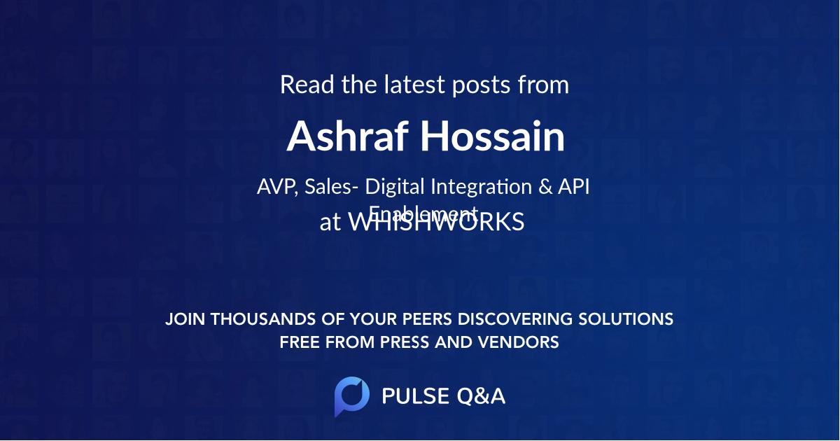 Ashraf Hossain