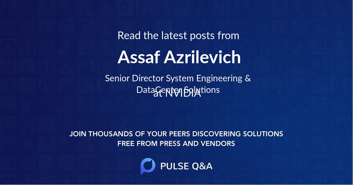 Assaf Azrilevich