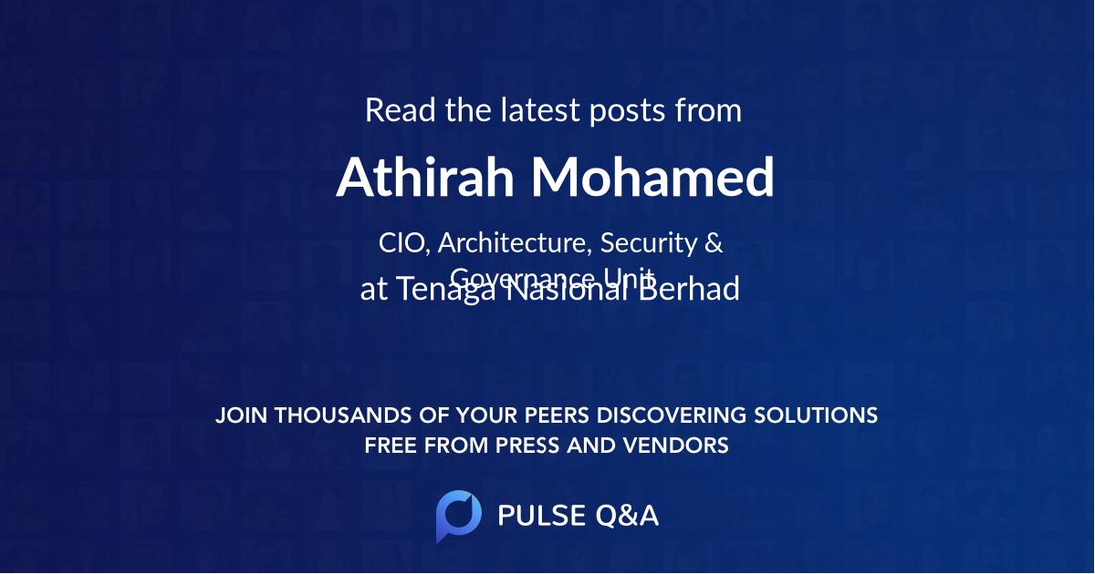Athirah Mohamed