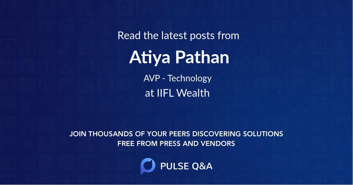 Atiya Pathan