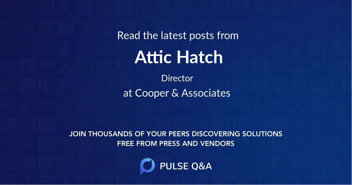 Attic Hatch