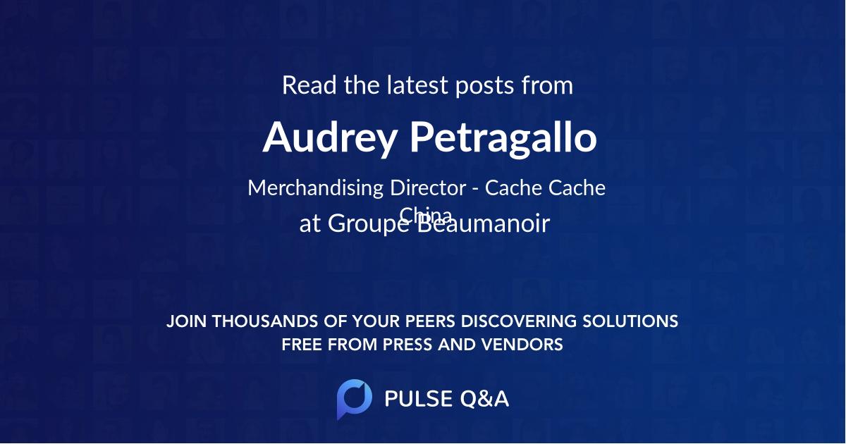 Audrey Petragallo