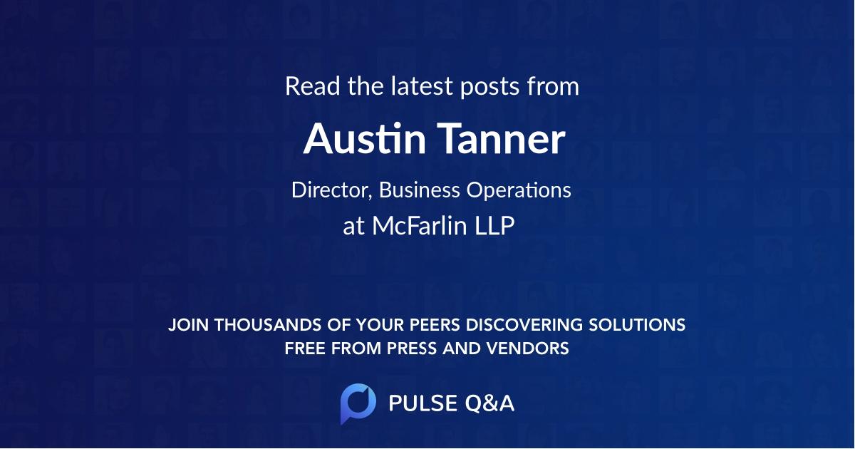 Austin Tanner