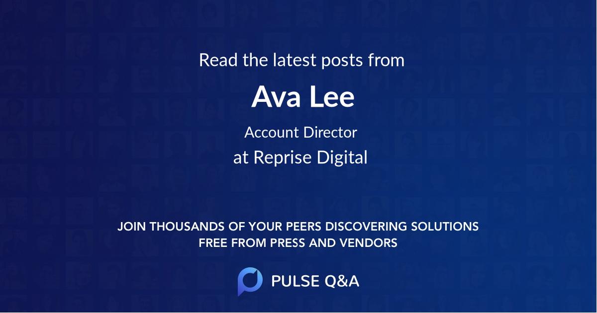 Ava Lee