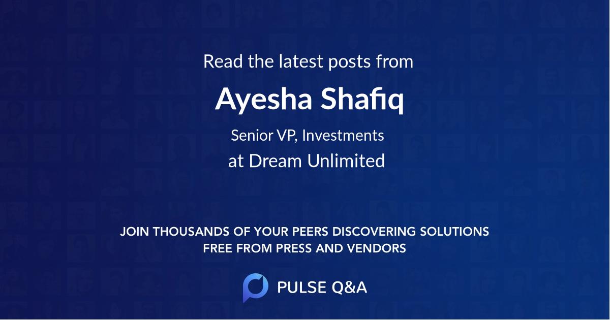 Ayesha Shafiq