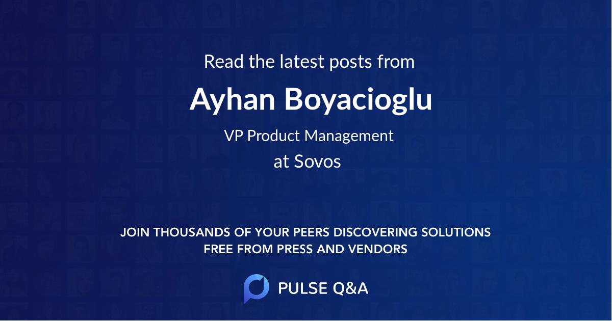 Ayhan Boyacioglu