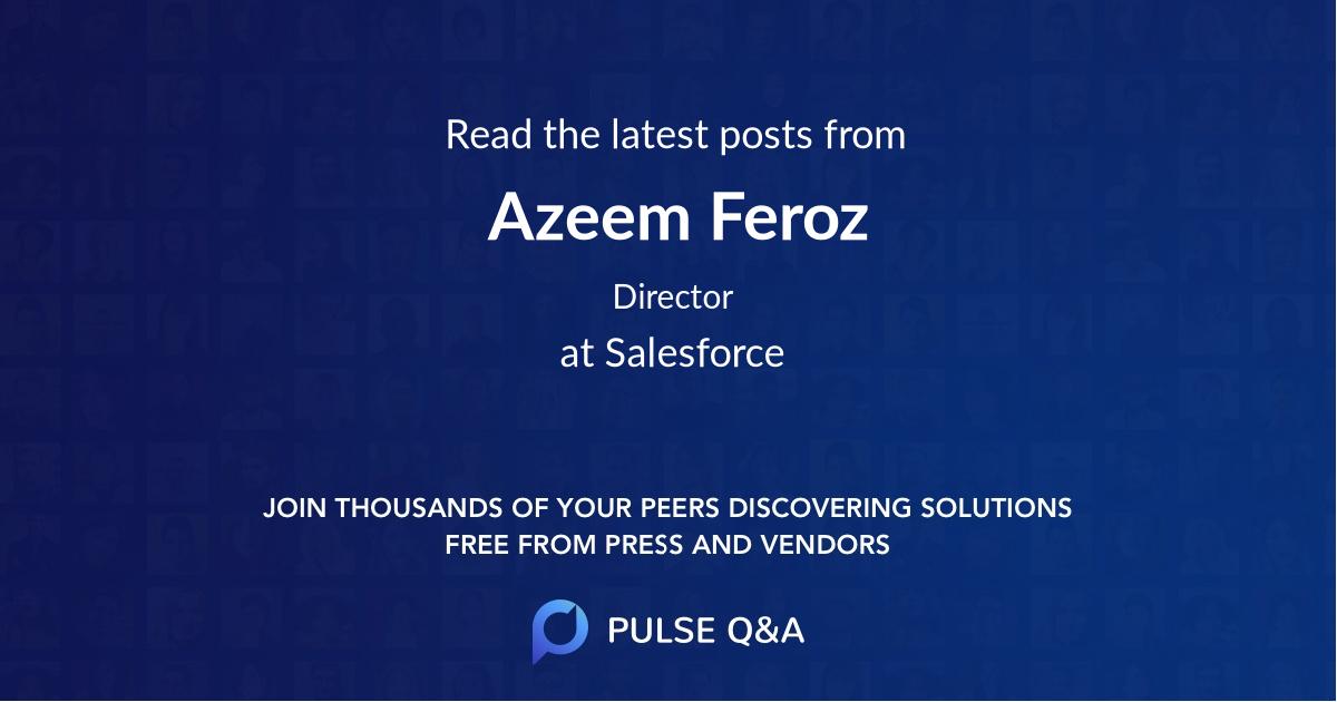 Azeem Feroz