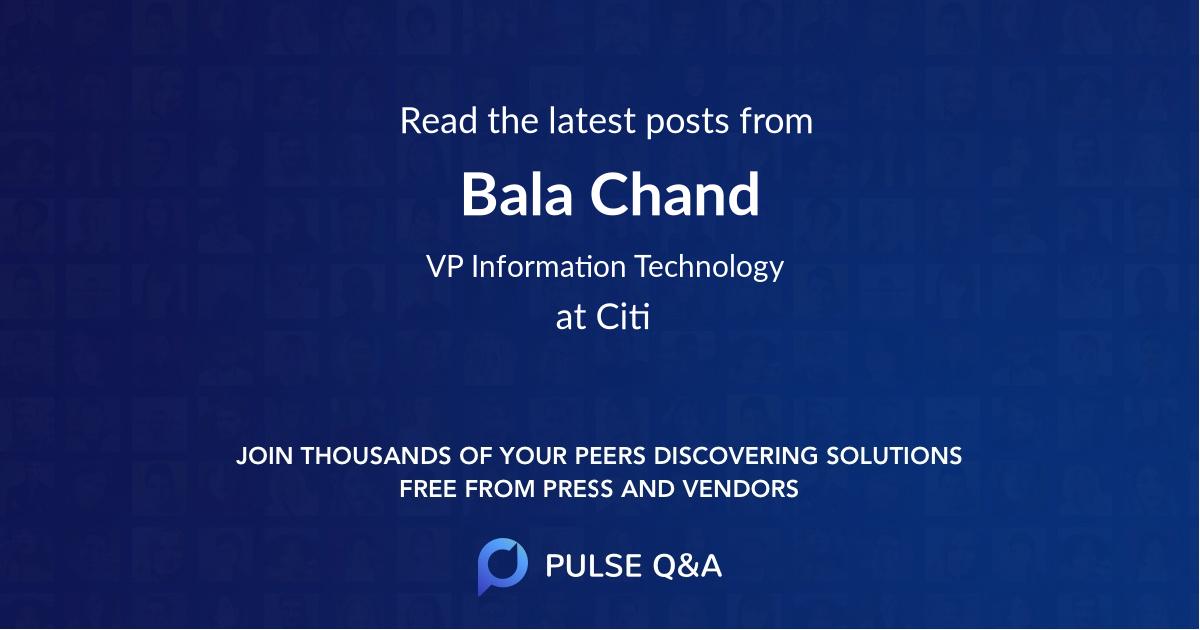 Bala Chand