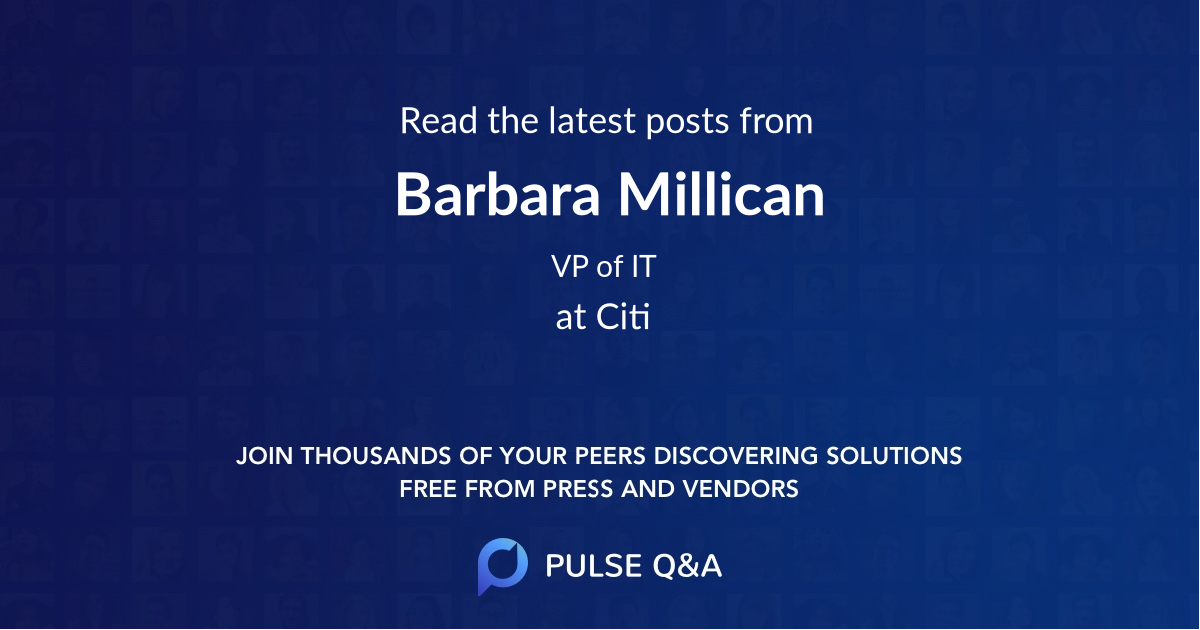 Barbara Millican