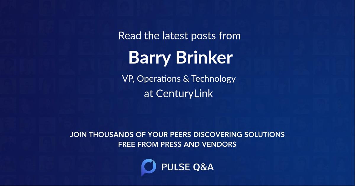 Barry Brinker