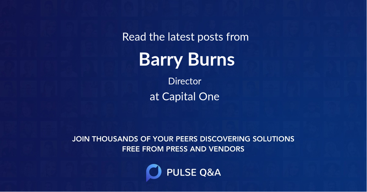 Barry Burns