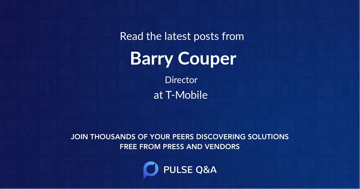 Barry Couper