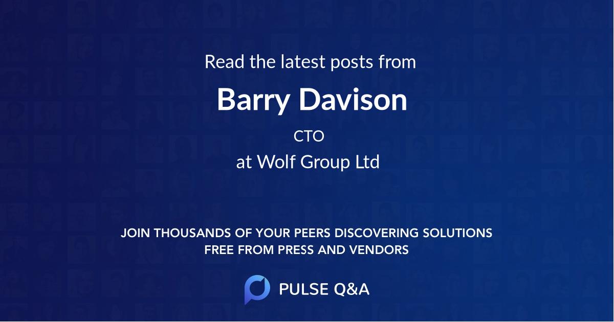 Barry Davison