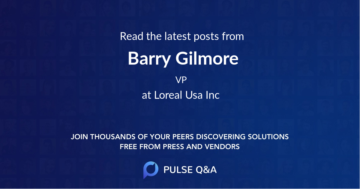 Barry Gilmore