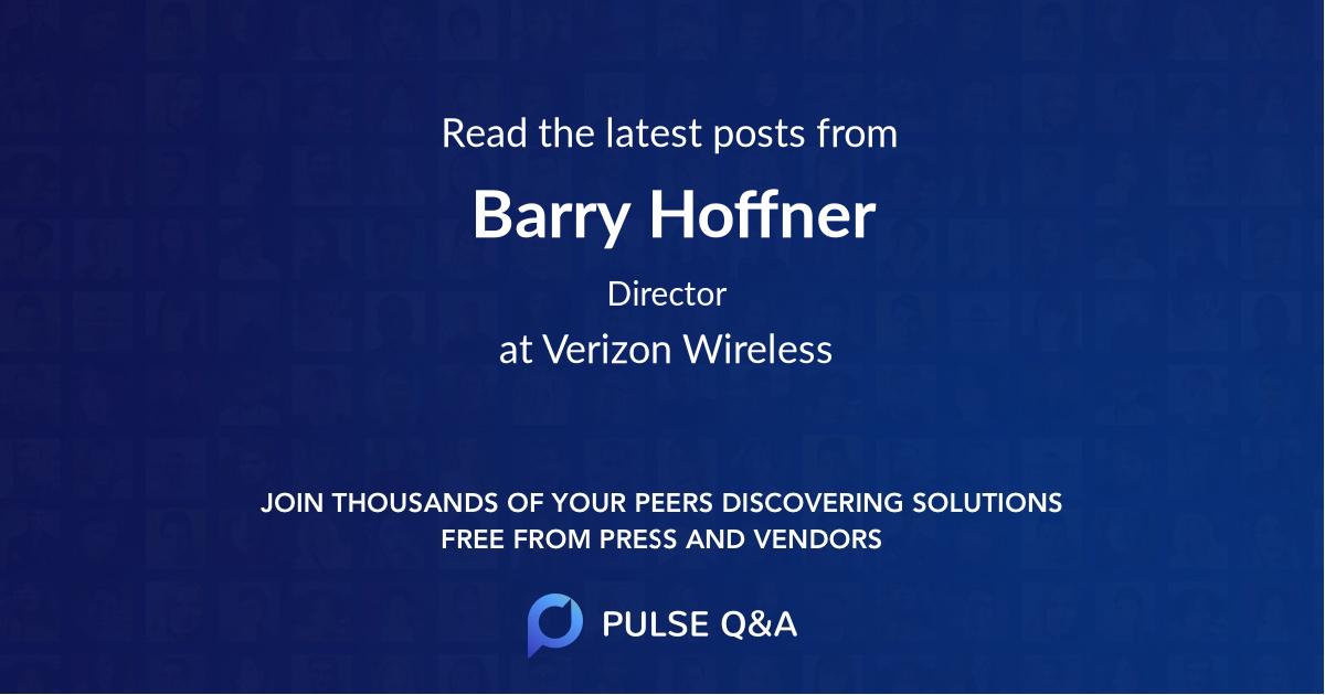Barry Hoffner