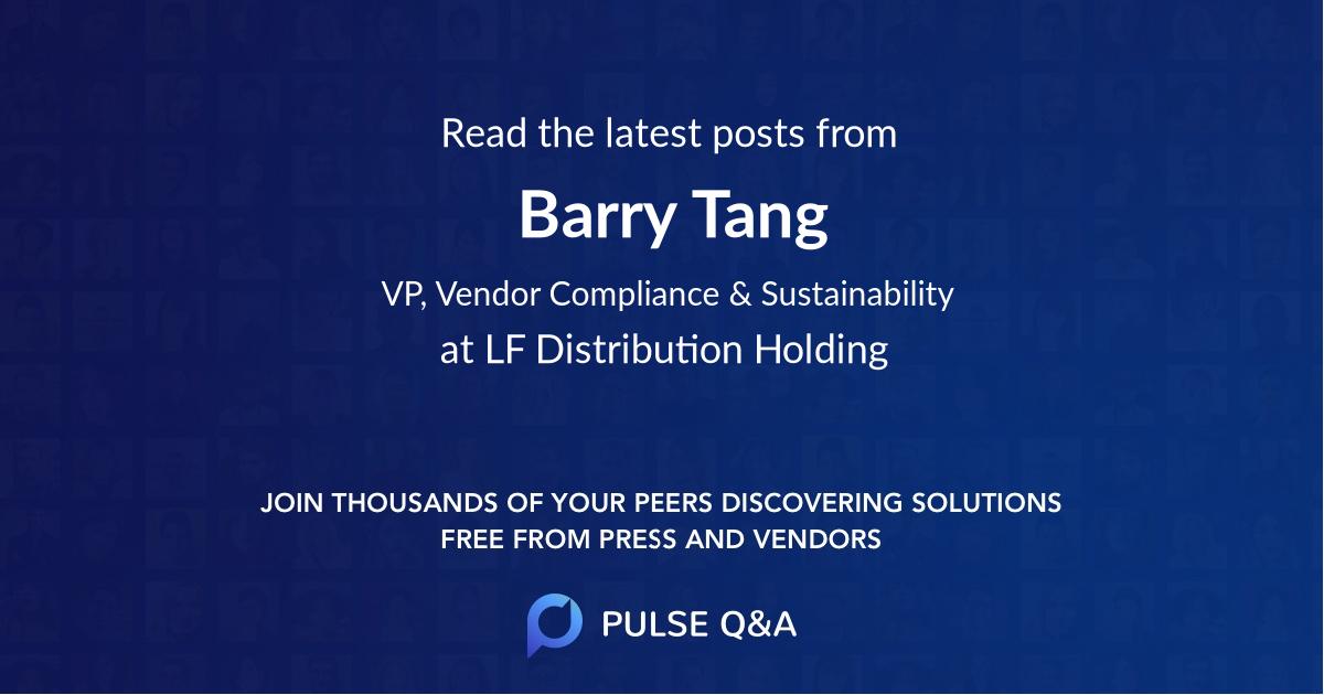 Barry Tang