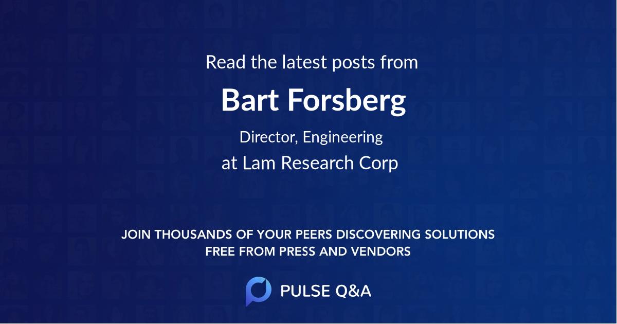 Bart Forsberg