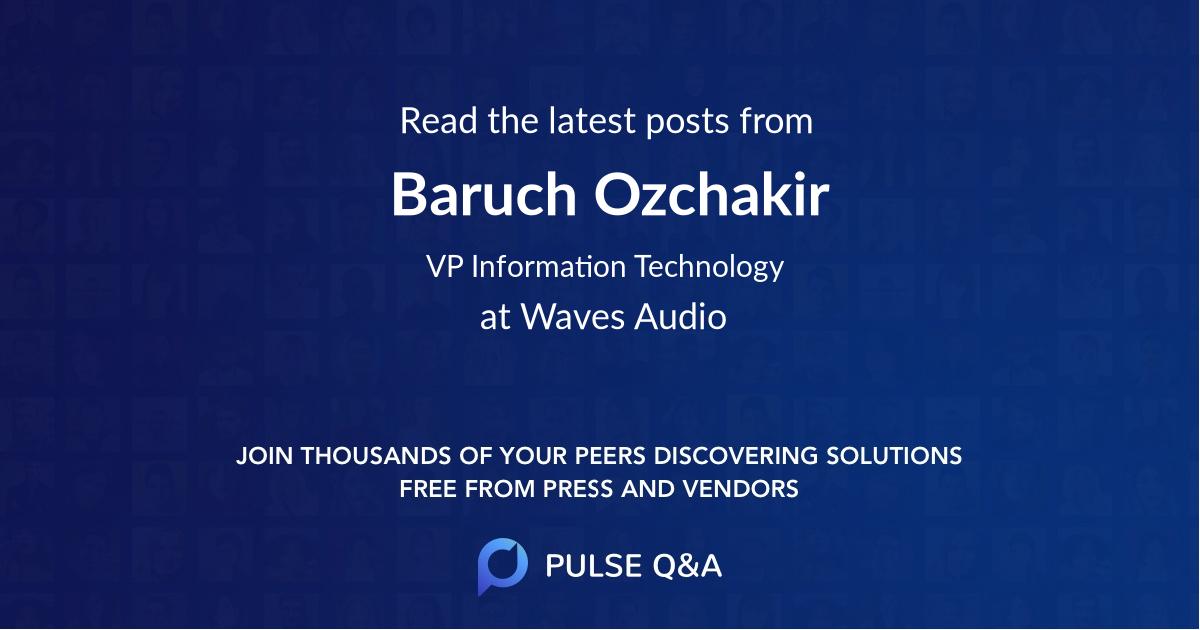 Baruch Ozchakir