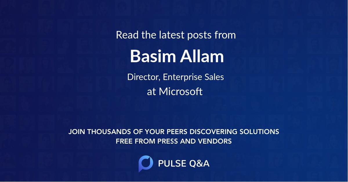 Basim Allam