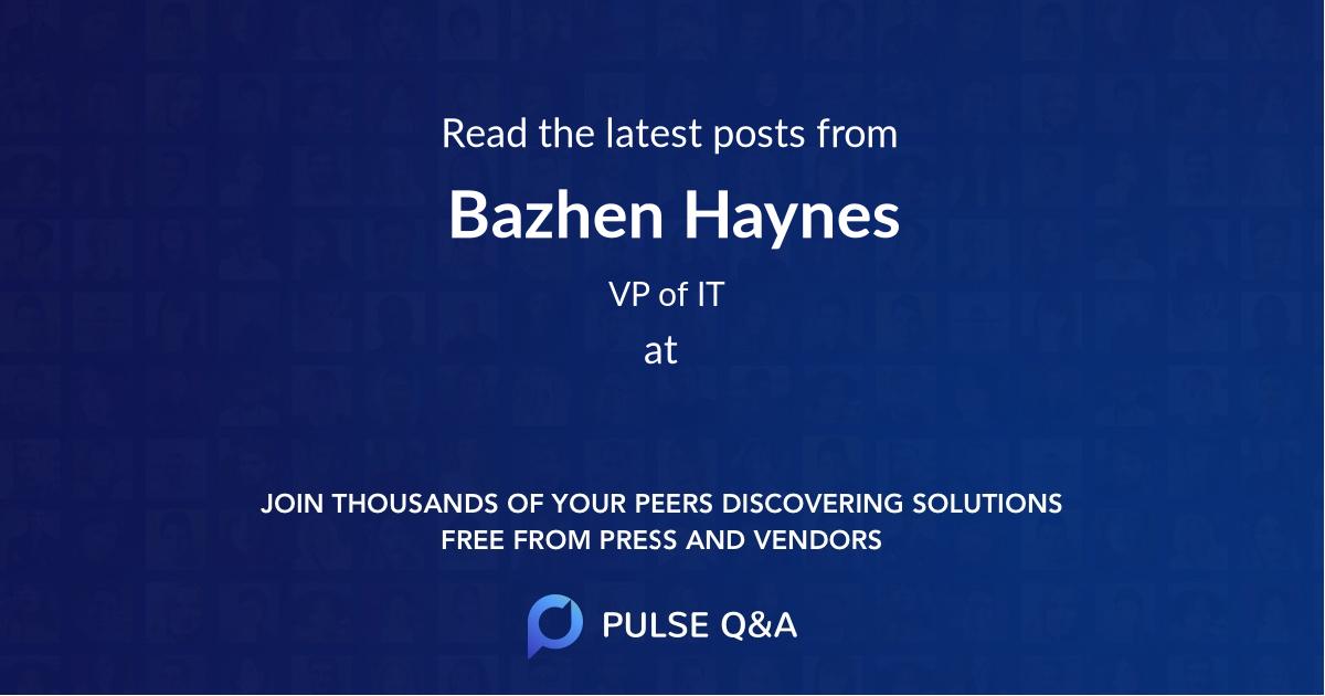Bazhen Haynes
