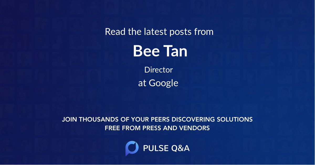 Bee Tan
