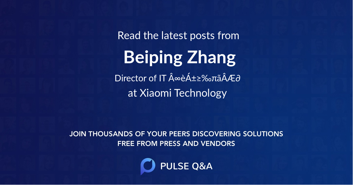 Beiping Zhang