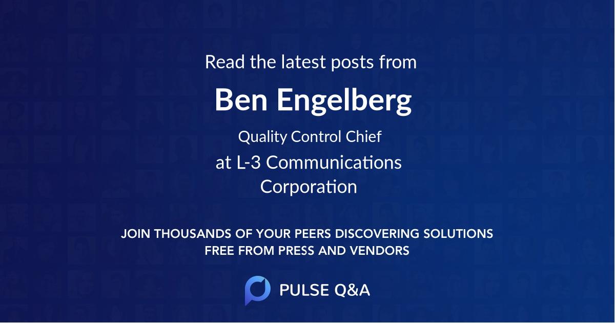 Ben Engelberg