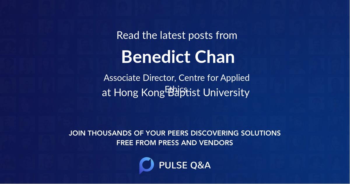 Benedict Chan