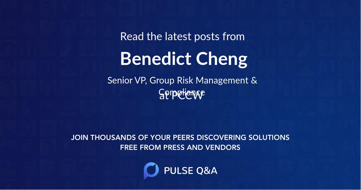 Benedict Cheng