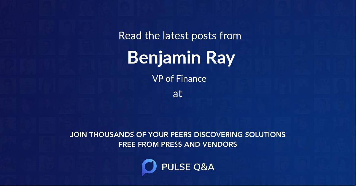 Benjamin Ray