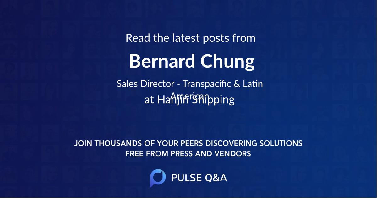 Bernard Chung