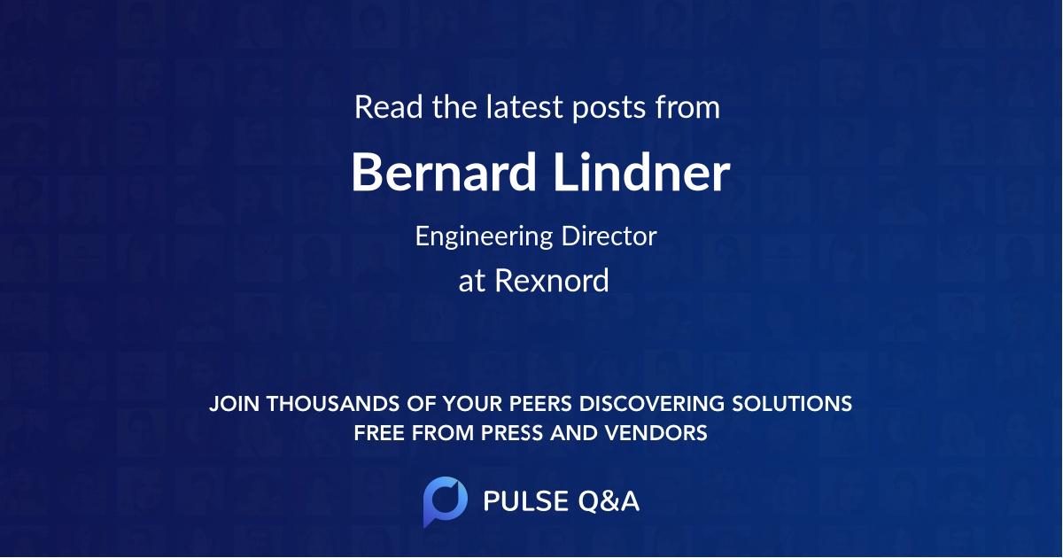 Bernard Lindner